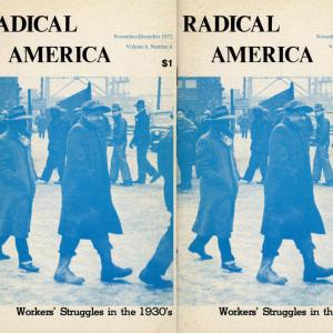 Radical America book cover