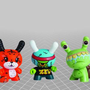 models of mini characters