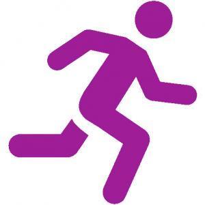 running man purple
