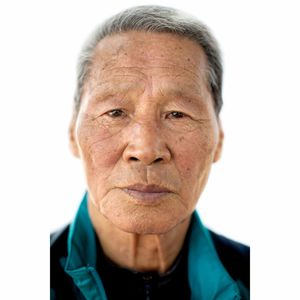 Portrait of Choi Chil-seong, 81, by Laura Elizabeth Pohl