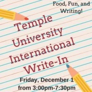 international flyer write in