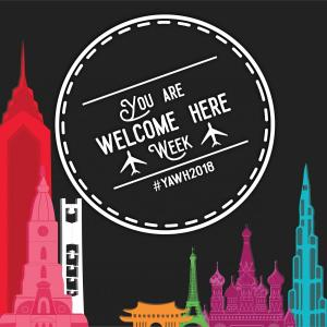 You Are Welcome Here Week 2018 Logo