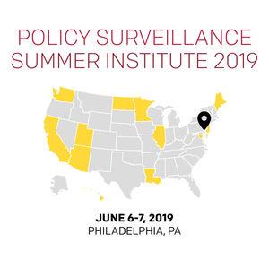 Policy Surveillance Summer Institute 2019