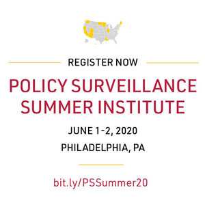 Policy Surveillance Summer Institute 2020, June 1-2