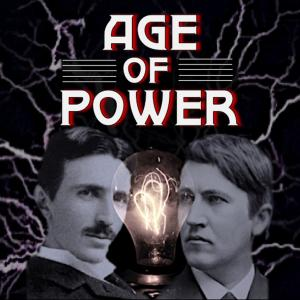 Title Graphic with photos of Edison and Tesla