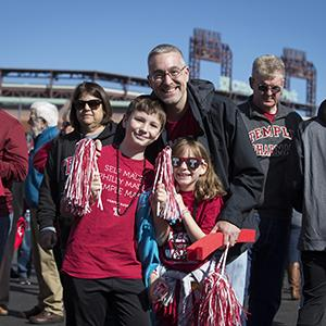 Temple family at Tailgate  sc 1 st  Calendar of Events - Temple University & Temple University Alumni Association Tailgate Tent at Parents and ...