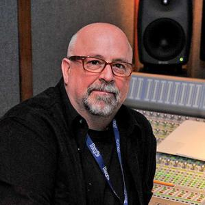 image of john harris in sound booth