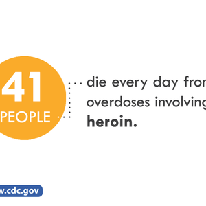 message about heroin deaths