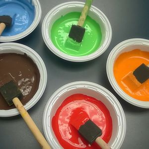 Bright paints