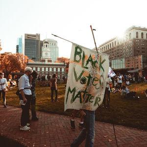 Black Votes Matter sign