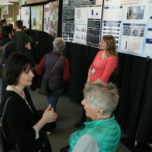 photo of poster presentation sessions