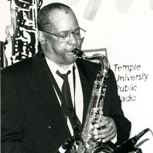 Bootsie Barnes playing sax
