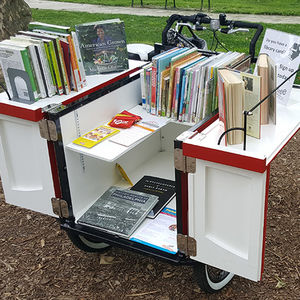 Book bike from the Free Library of Philadelphia