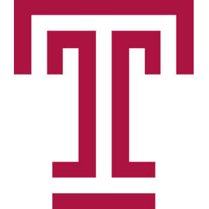 Temple University Colors Cherry and white weekend calendar of events