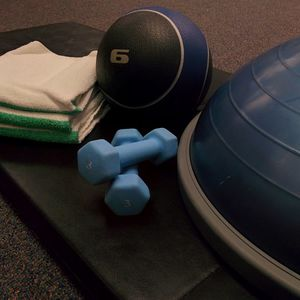 Workout equipment that can be found in the TASB Fitness Center