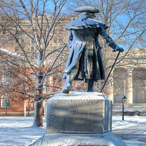 Statue of Robert Morris in Philadelphia