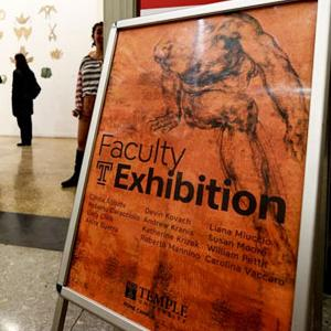 Rome faculty exhibition