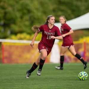 Temple Womens Soccer player